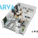 Esquire - Floor Plan - A2 Arya