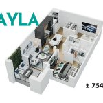 Esquire - Floor Plan - A3 Ayla