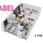 Esquire - Floor Plan - A4 Abel