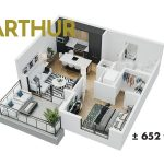 Esquire - Floor Plan - A7 Arthur
