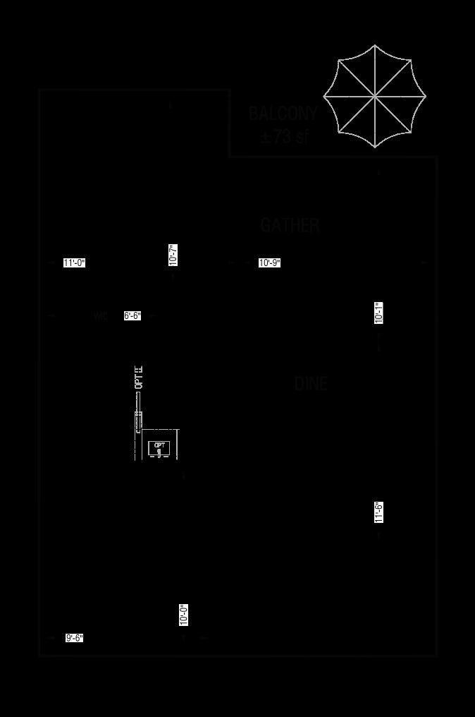 Esquire - Floor Plan - A4