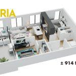 Esquire - Floor Plan - B4