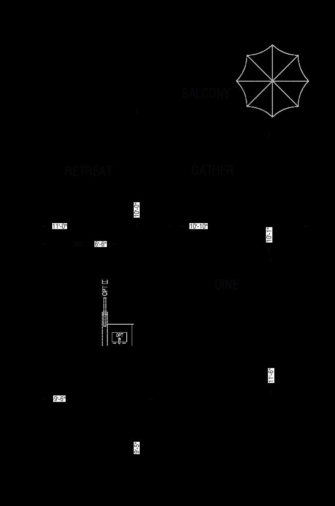 Esquire - A8 - Floor Plan