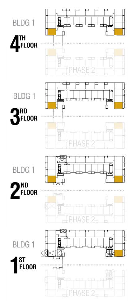 Esquire - B5 - Floor Availability