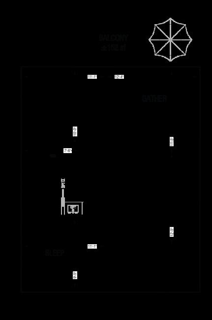 Esquire - Floor Plan - A2
