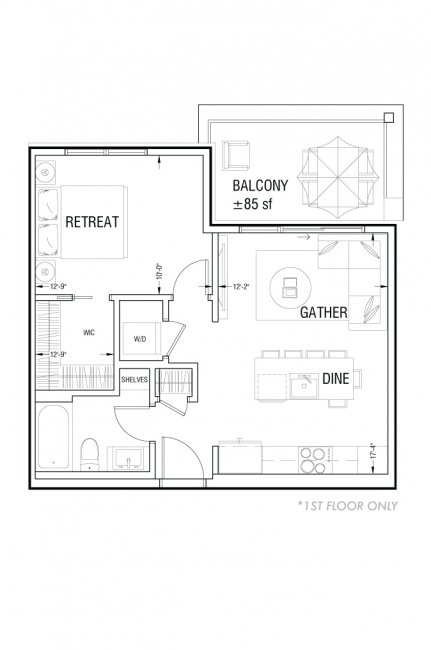 Esquire - A7 - First Floor Layout